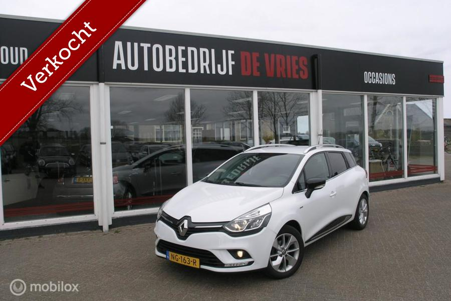 Renault Clio Estate 0.9 TCe Limited Airco/Navi/Trekhaak/Cruise