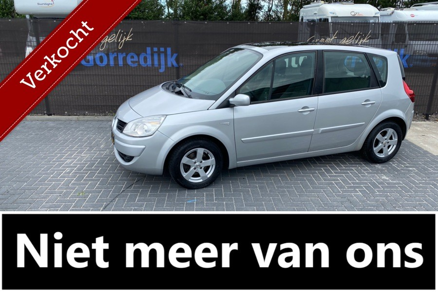Renault Scenic 1.6-16V Business Line AUTOMAAT,Panoramadak,Clima,Cruise 125.195 km Bj 2008