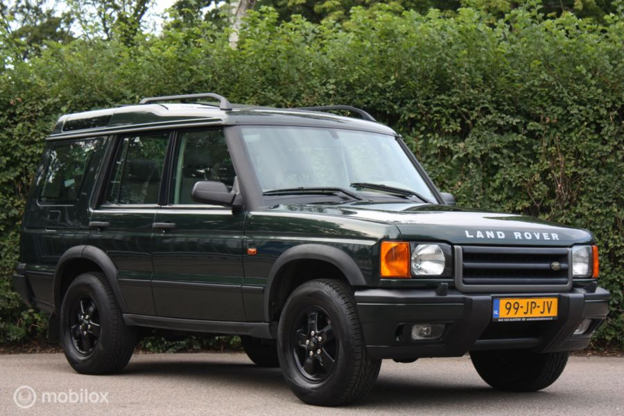 YOUNGTIMER Land Rover Discovery II 2.5 Td5 AUT sunroof/7-zit