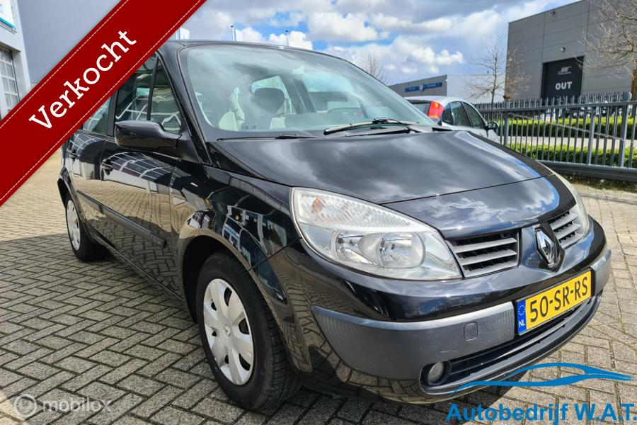 Renault Scenic 1.6-16V Dynamique Comfort # PANO   APK 2-2022   Trekhaak   Luxe   Cruise   Clima   ISOFIX