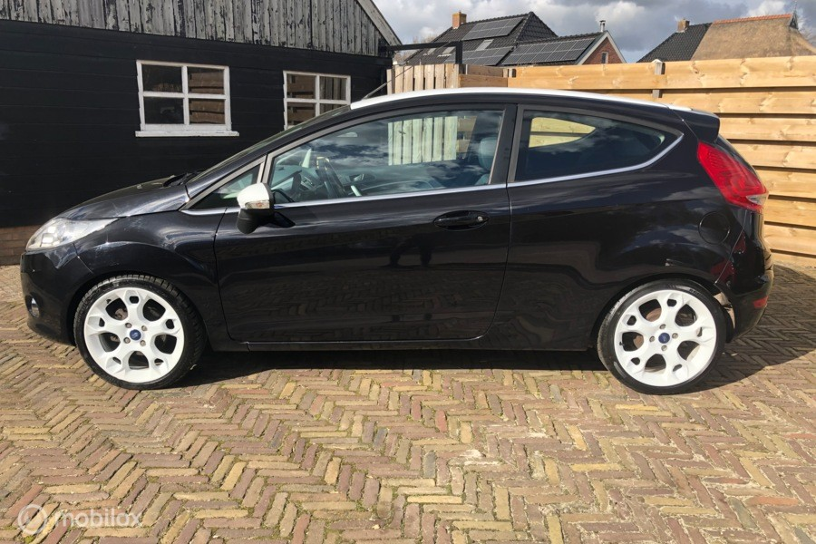 Ford Fiesta 1.25 Titanium, Launch Pack + X pack (Bomvol!)