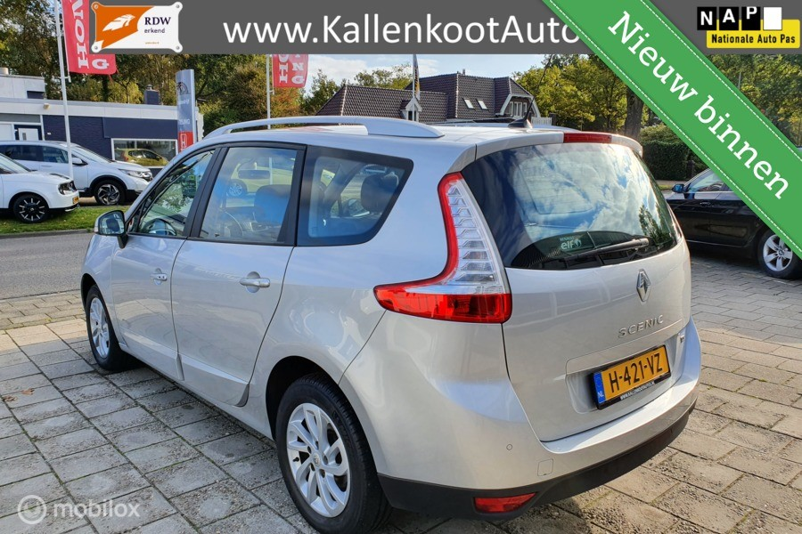 Renault Scenic 1.2 TCe, Navi, Clima, Stoelverwarming, PDC