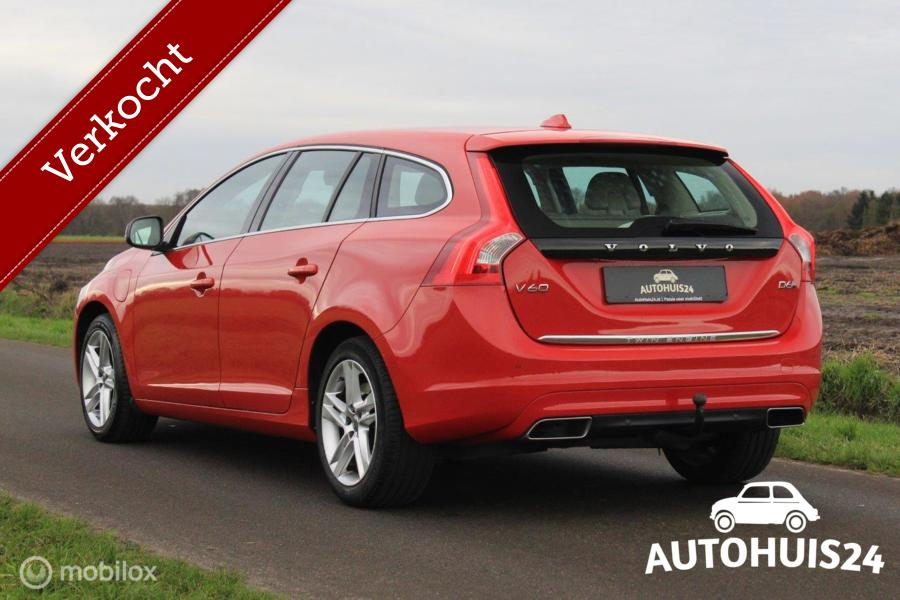 Volvo V60 2.4 D6 Twin Engine Summum #Verkocht!