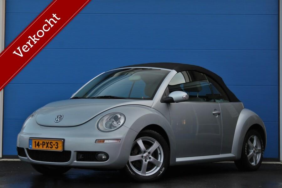 Volkswagen New Beetle Cabriolet 1.6 Highline | Airco | Stoelverwarming |