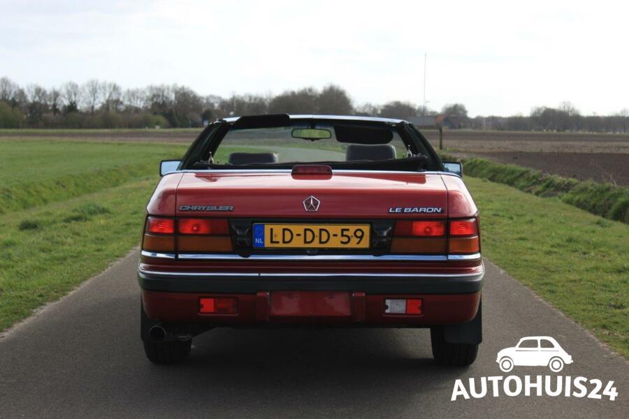 Chrysler LeBaron 3.0i V6 LX Convertible