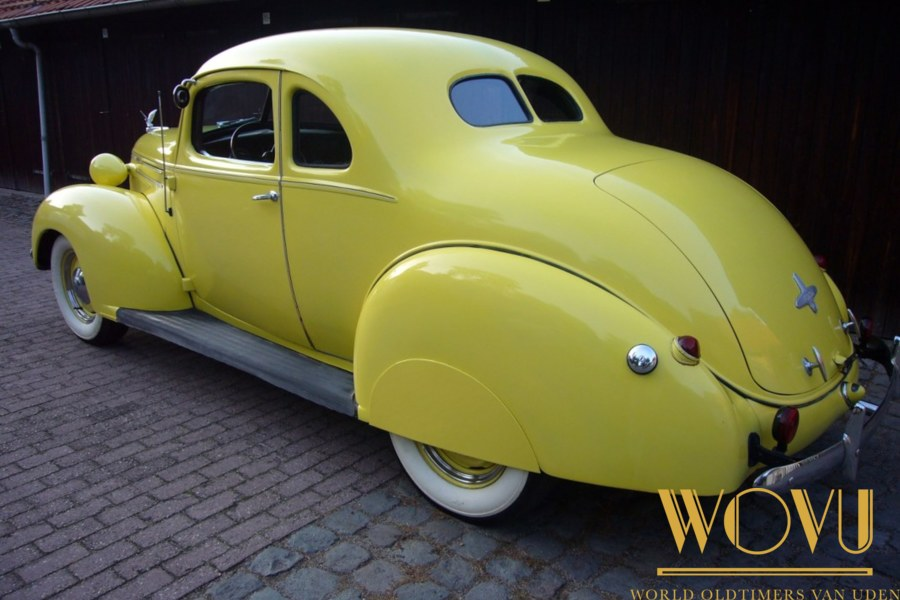 Hudson  coupe type 112  1939