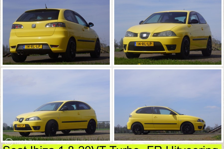 Seat Ibiza 1.8- 20V VT FR Turbo-BJ 2005 / Vol Opties en APK.
