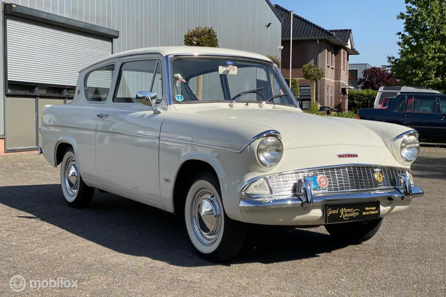 Ford Anglia 106E De Luxe Topstaat! 36dkm!