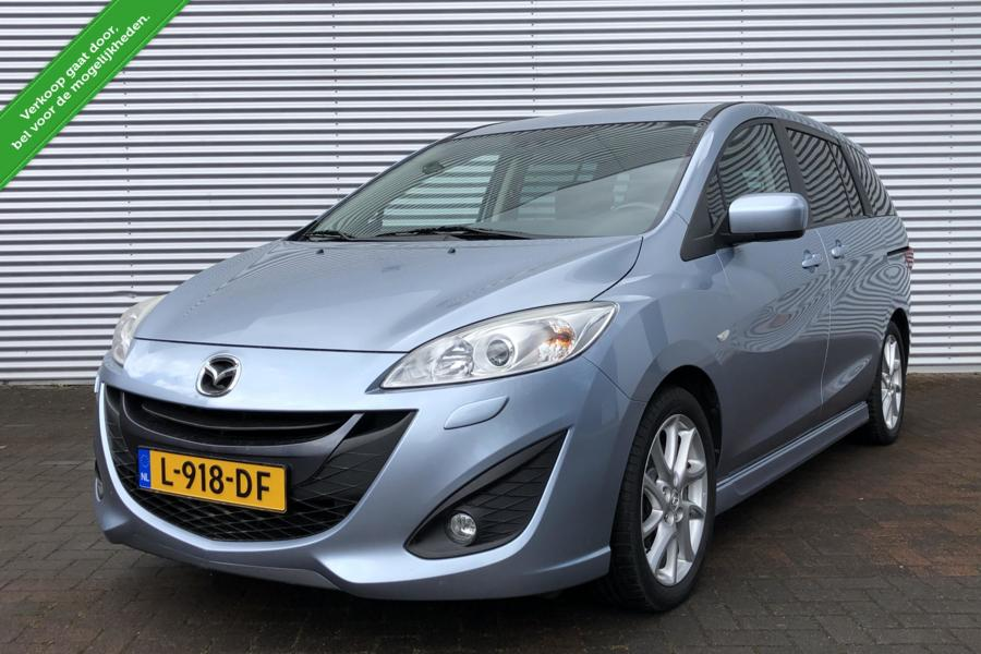 Mazda 5 2.0 GT-M 7 PERSOONS/AIRCO/MP3/XENON/PDC/VEEL OPTIE'S