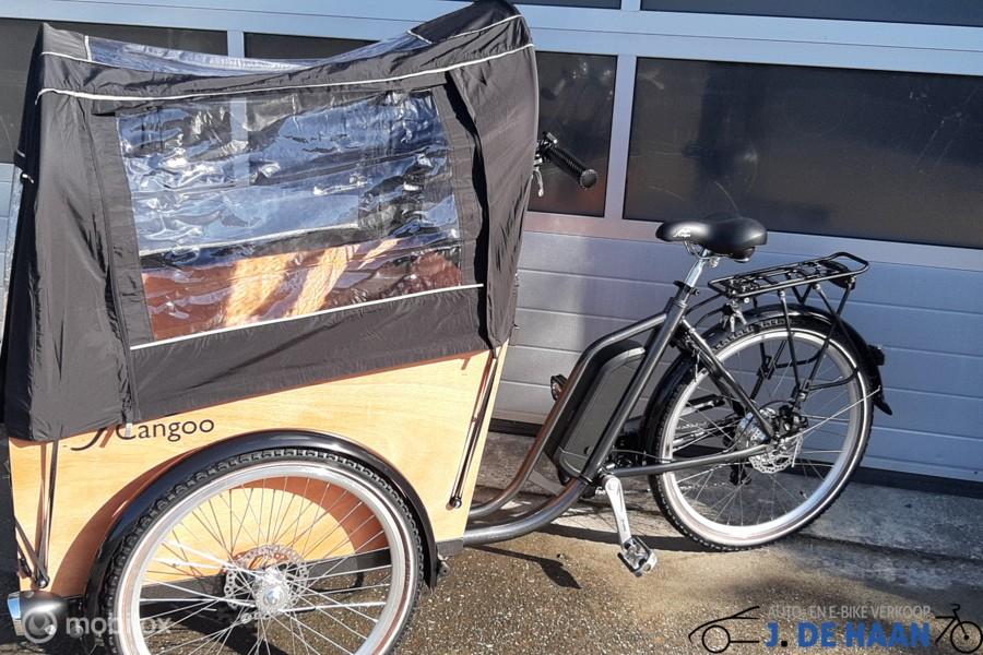 Popal Cangoo electrische bakfiets  luxe fiets