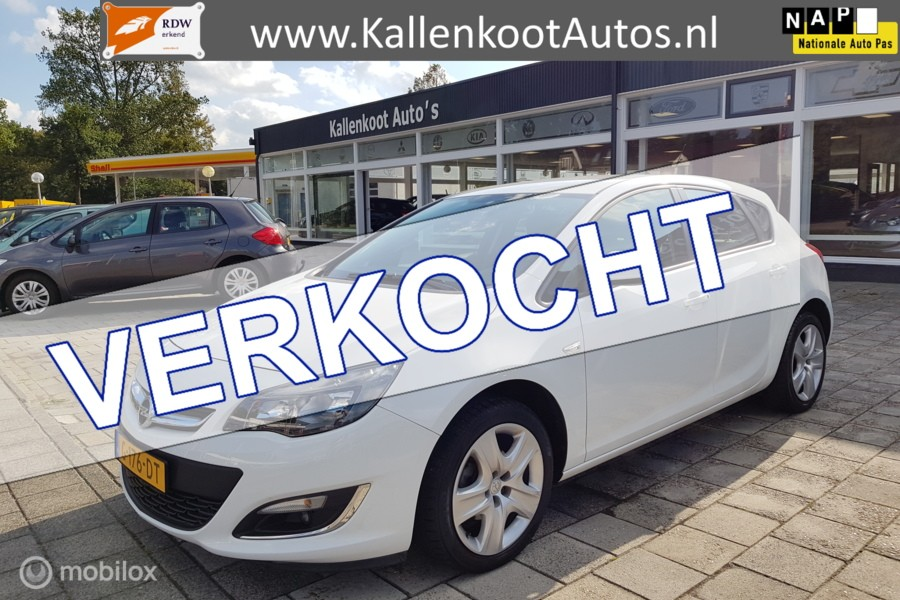 Opel Astra 1.4, LED, Airco, Cruise, PDC, Stoelverwarming?>