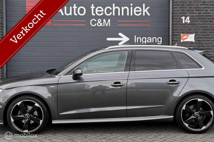 Audi A3 sportback 1.4 TFSI 3xS-Line/Navi/Leder/Led/Pano/Pdc