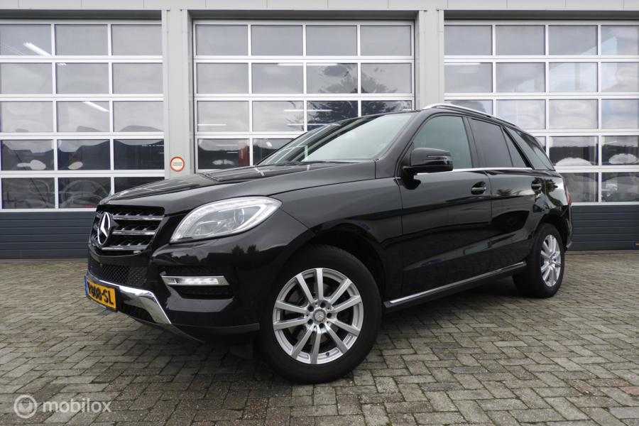 Mercedes Ml 350 CDI  Bluetec Grijs kenteken VAN