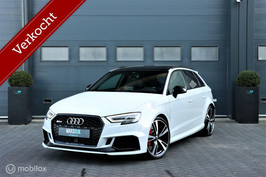 Audi RS3 2.5 TFSI RS3 quattro|RS Stoelen|Carbon|