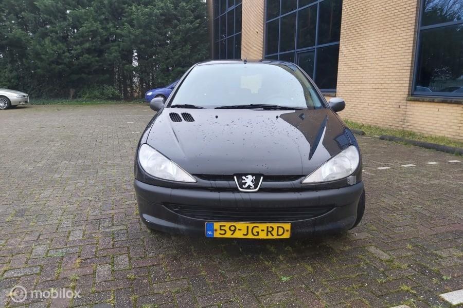 Peugeot 206 1.4 XT elektrisch ramen  Nap jaar Apk