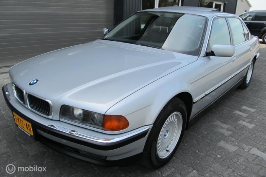 BMW 7-serie - 750iL 148537 km zeer goede staat, YOUNGTIMER