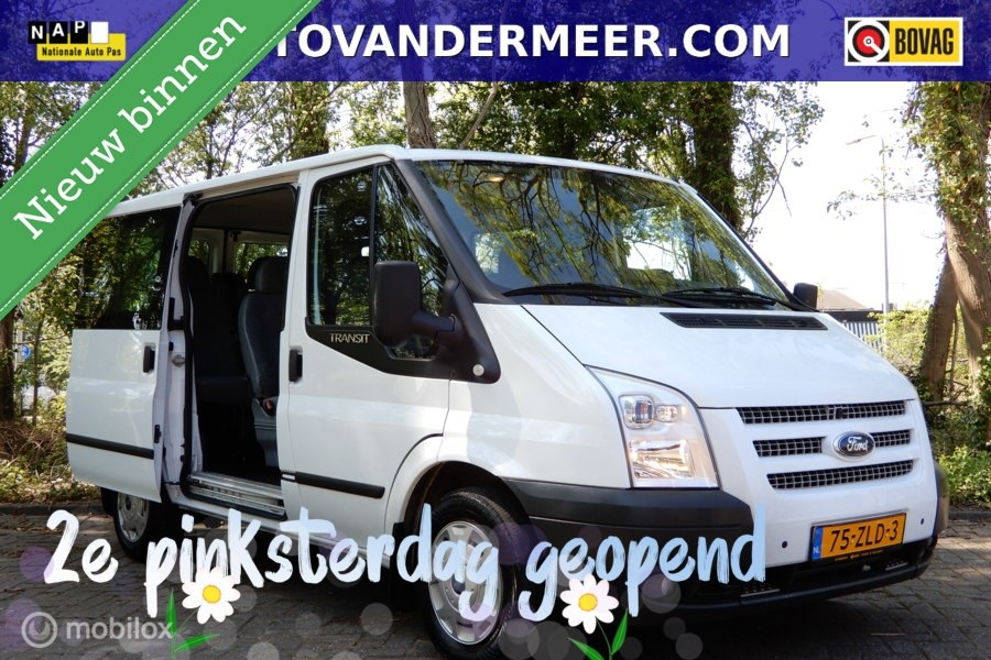 Ford Transit Combi 300S 2.2 TDCI TREND SHD 9 PERSOONS/MARGE!GEEN BTW/BPM!