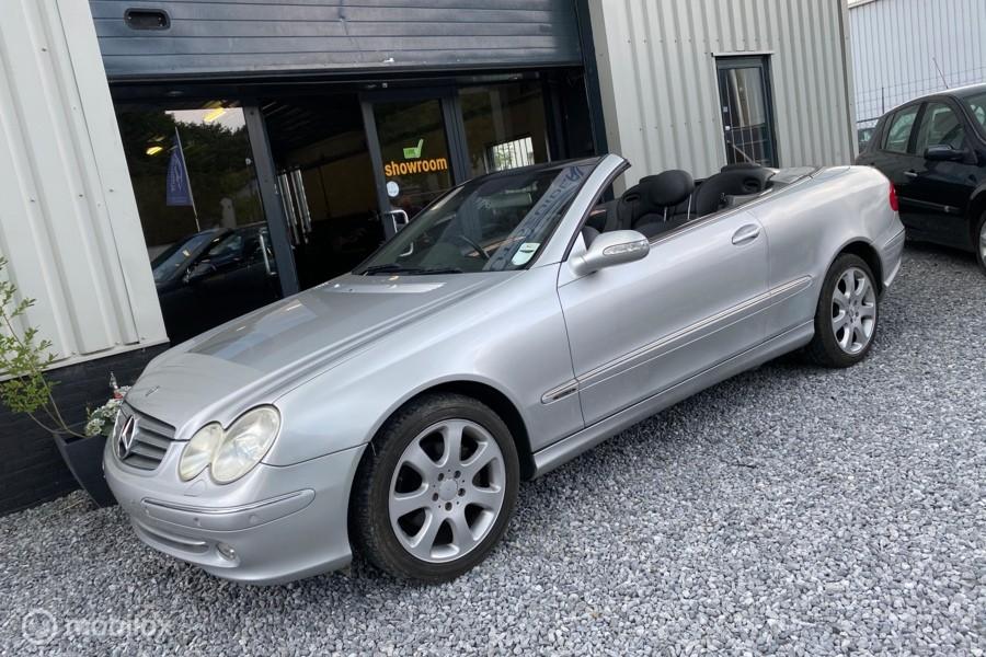 Mercedes CLK 320  Cabriolet Elegance RHD