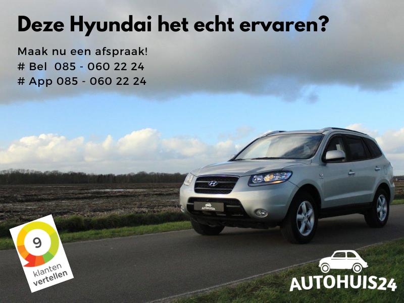 Hyundai Santa Fe 2.7i V6 4WD Style #Verkocht!
