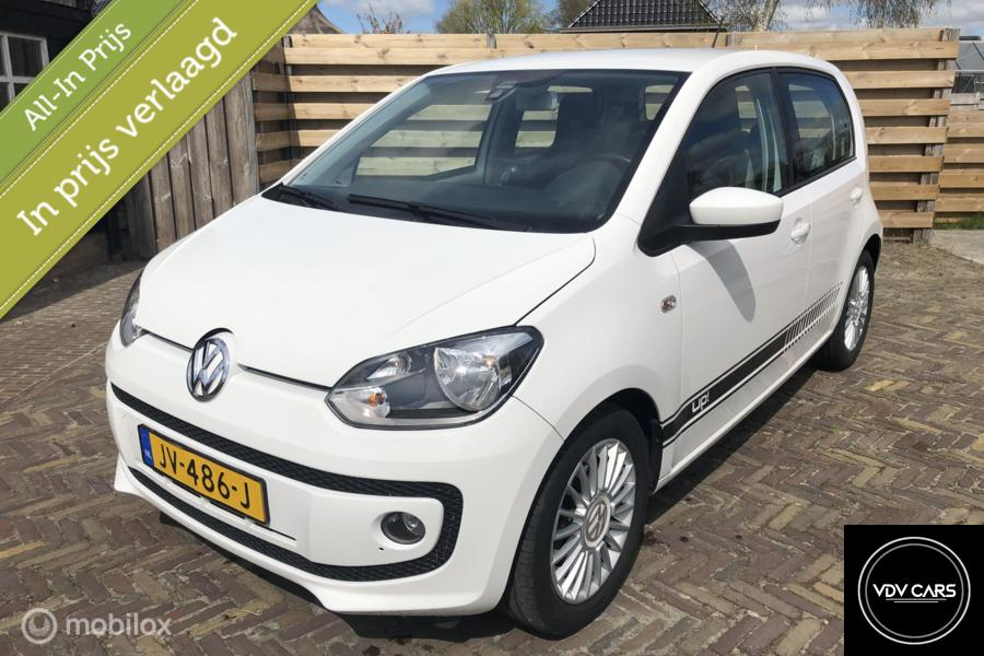 Volkswagen Up! 1.0i 75PK high up! Exe BlueMotion, Airco, Cruise, Navi, PDC, Fender Audio,