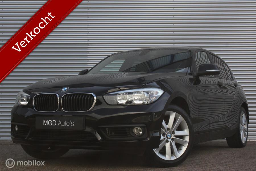 BMW 1-serie 116i Essential /AIRCO/LED/STOELVERW./CRUISE/BLUETOOTH/PDC!
