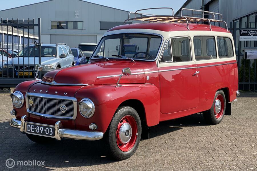 Volvo Duett P210 B18 1967