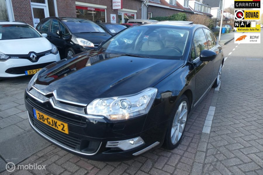 Citroën C5 2.7 HDiF Exclusive, pracht auto, vol leer