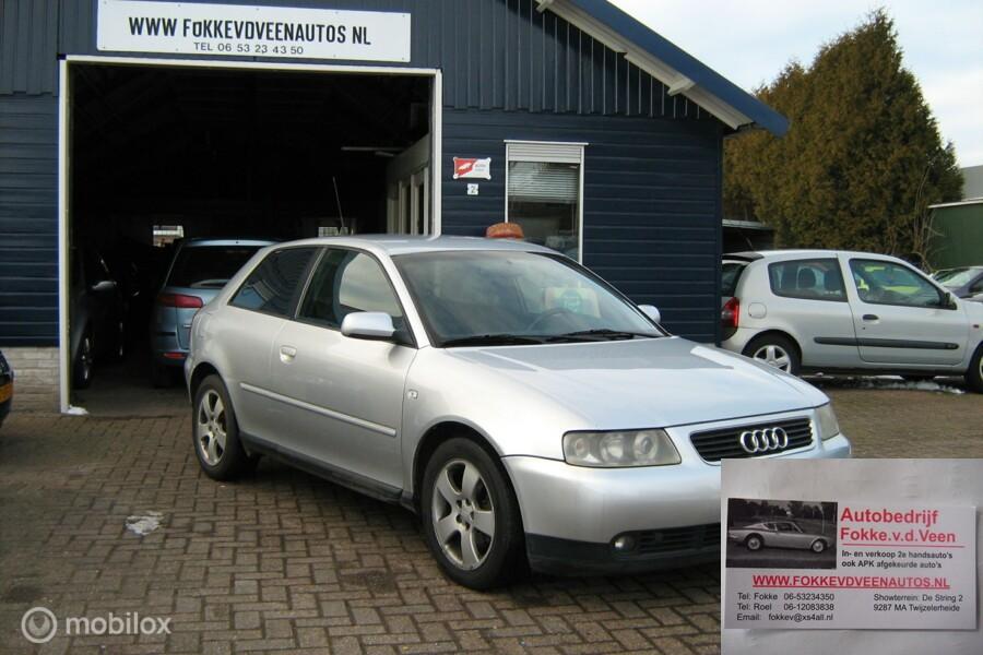 Audi A3  1.9 TDI Gechipt Nw Turbo Super snel Alle inruil