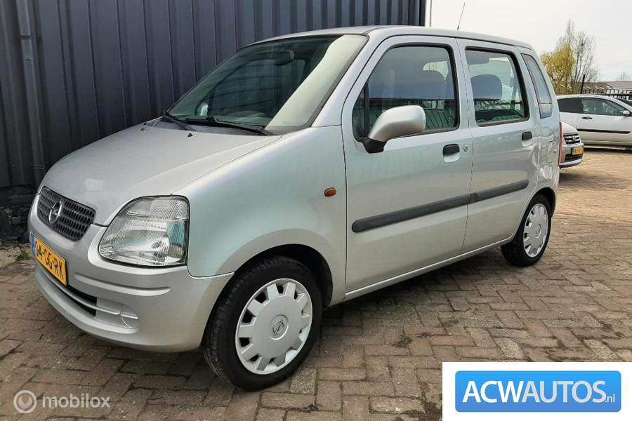 Opel Agila 1.2-16V airco nieuwe  apk