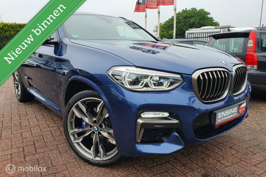 BMW X4 M40i High Executive Edition/21 inch/head-up/camera/stoelventilatie/panoramadak/Harman kardon/apple car play/driving assistant plus/display key/BOM VOL!!