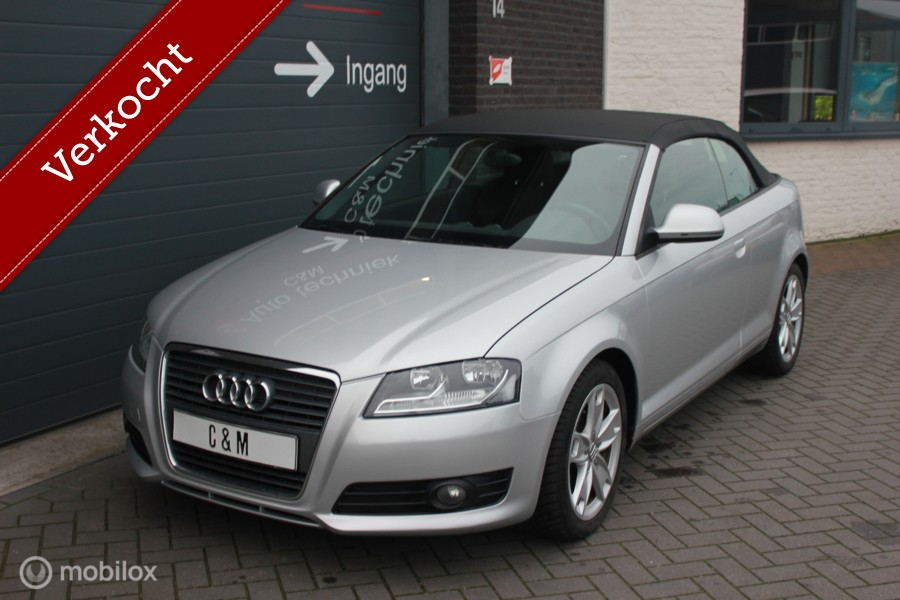 Audi A3 Cabriolet 1.6 Ambition Pro Line/Softtop/nieuwstaat