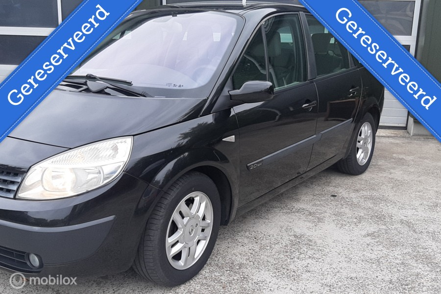 Renault Grand Scenic 2.0-16V Dynamique Automaat inruilkoopje