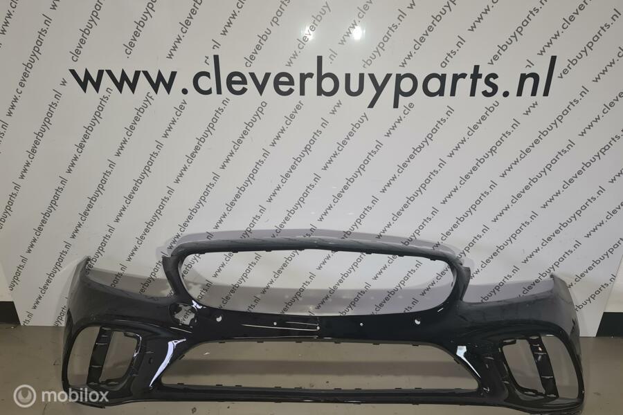 Voorbumperorigineel C-klass W205 Facelift Pdc krasvrij Amg