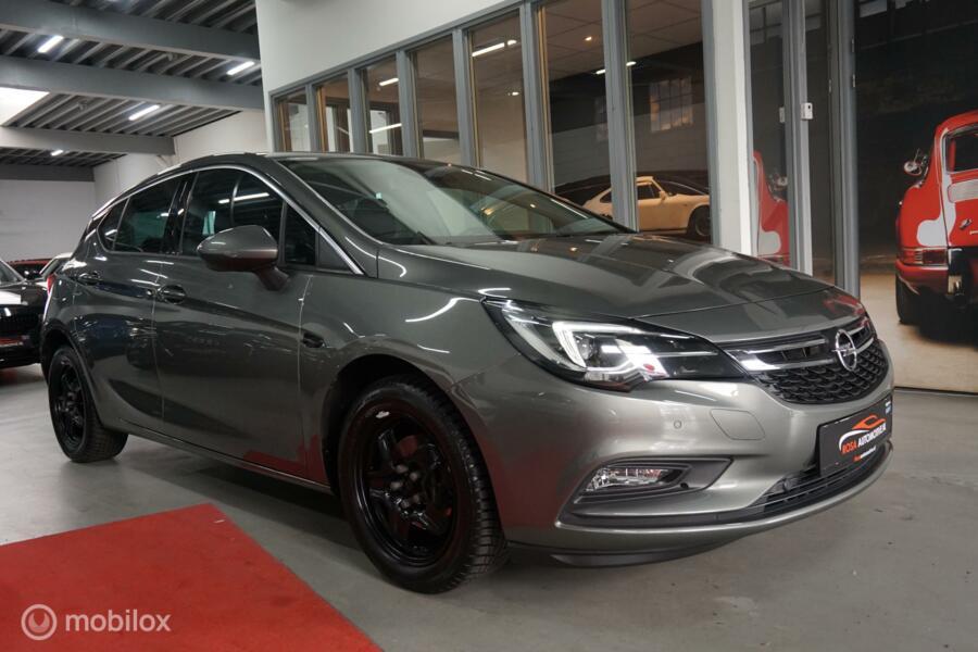 Opel Astra 1.4 TURBO AUT. 150P KNAVI LED  LEER  CAMERA CRUISE PDC STOELVERW. WIFI ON STAR GETINT GLAS VOLLEDIG ONDERHOUDEN GARANTIE