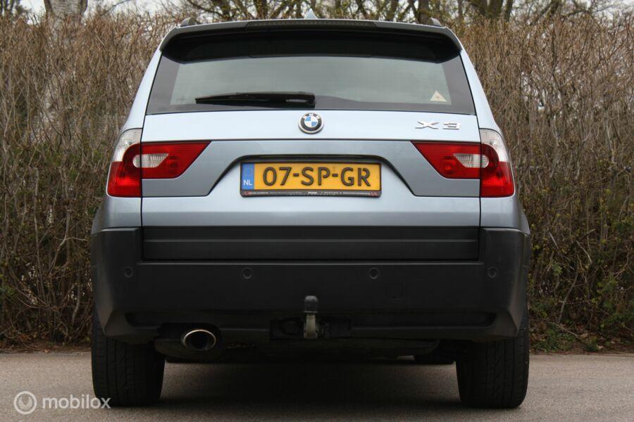 BMW X3 2.0i Xdrive   ketting+diff vv   navi/cruise/trekhaak
