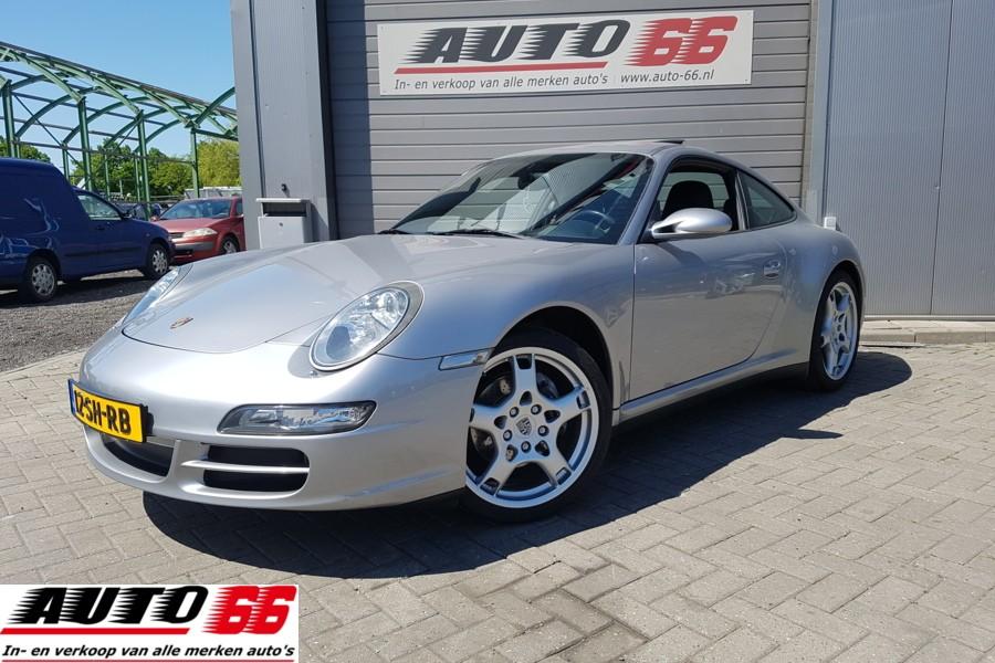 Porsche 911 Cabrio 3.6 Carrera CruiseControl StoelVerwarming