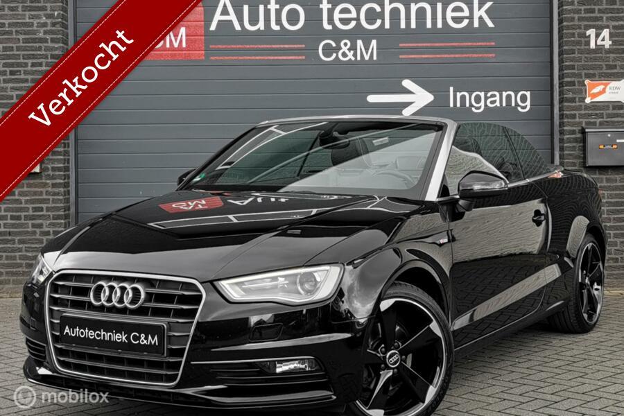 Audi A3 Cabriolet 1.4 TFSI 3xS-line/Cabrio/Leder/Navi/Cruise