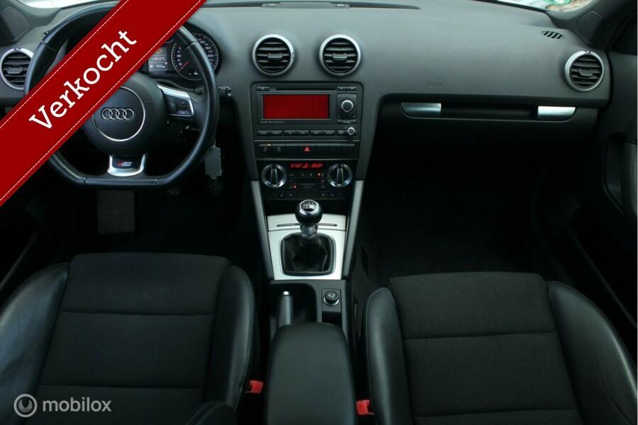 Audi A3 Sportback 1.4 TFSI S-edition S-Line /XENON/LED/CLIMATE/CRUISE/NAVI/TELEFOON/HALF-LEDER/STOELVERW./PD