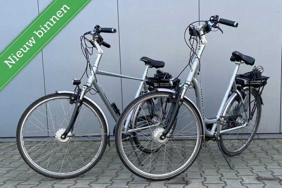 E Bike Multicycle SETprijs/RIjdt Als NIEUW/100km/Nieuwstaat!