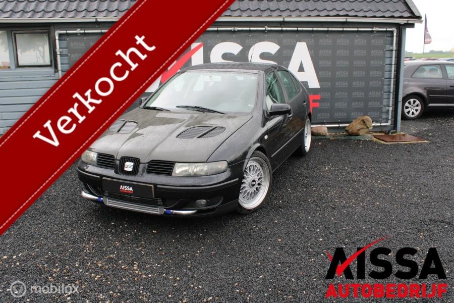 Seat Leon 1.8-20VT Sport K04 turbo/Gechipt/225-240PK