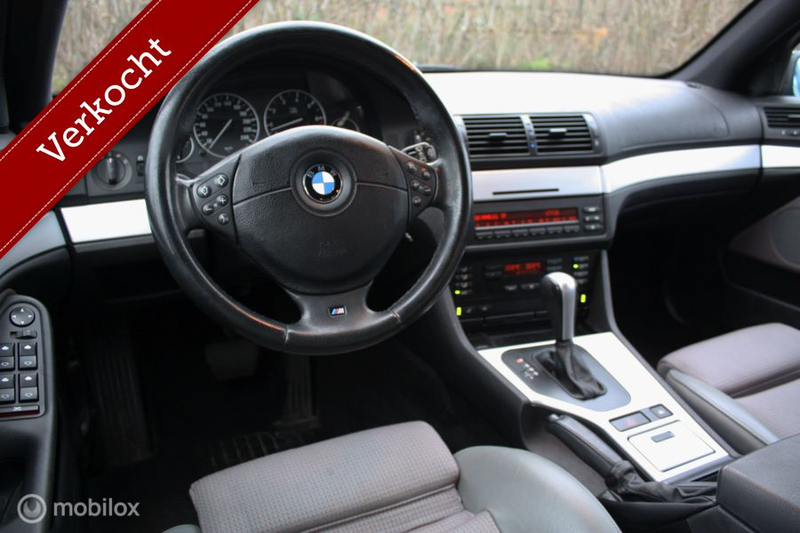 TOPSTAAT BMW 525i E39 AUT Touring Lifestyle youngtimer/pdc