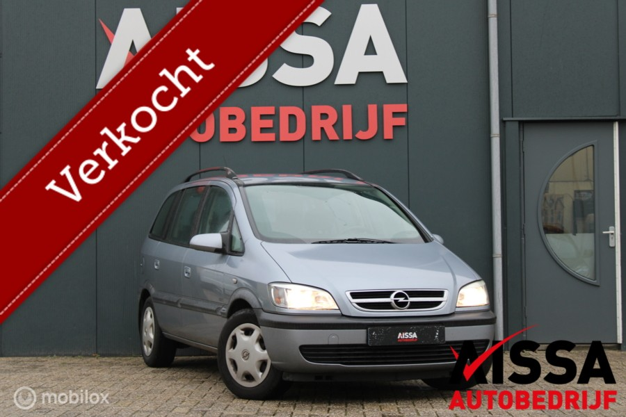 Opel Zafira 1.6-16V Comfort 7Persoons/Airco Apk 16-07-2021