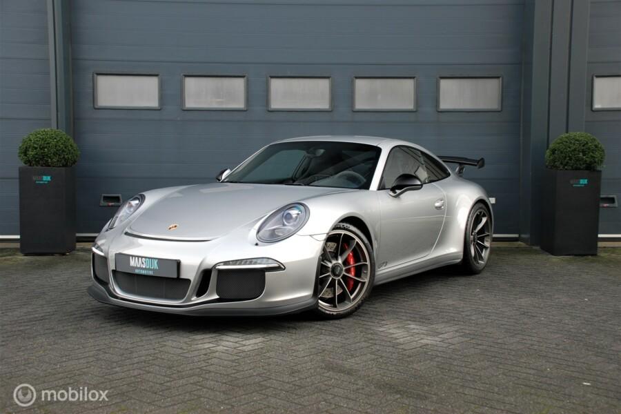 Porsche 991 3.8 GT3 PDK Carbon Dealer onderhouden BTW.