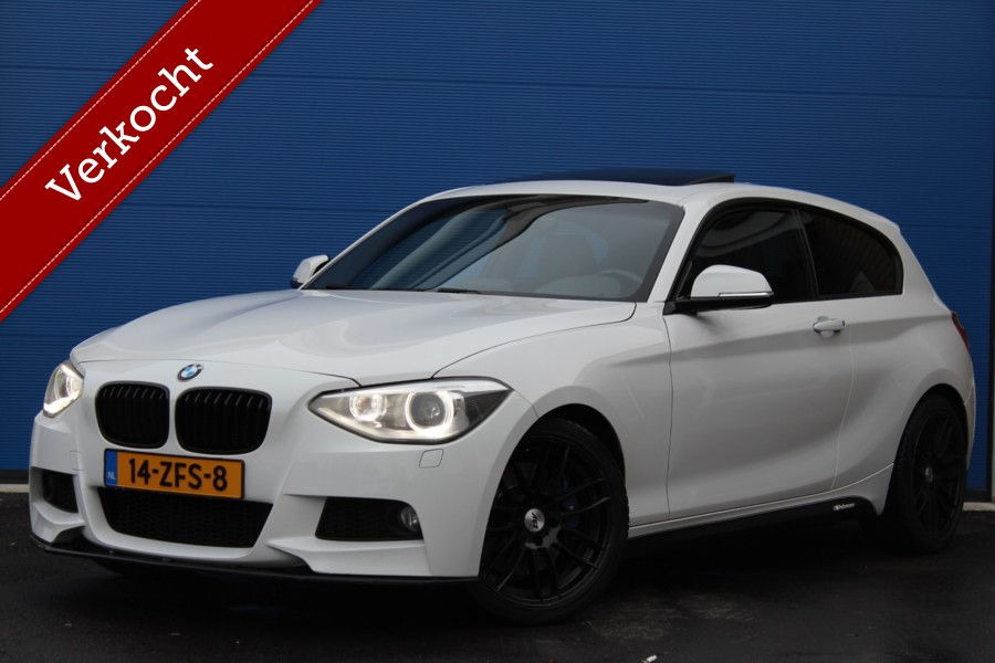 BMW 1-serie 116i 136/220 pk | M-Sport | Schuifdak | leder | Stoelverwarming |