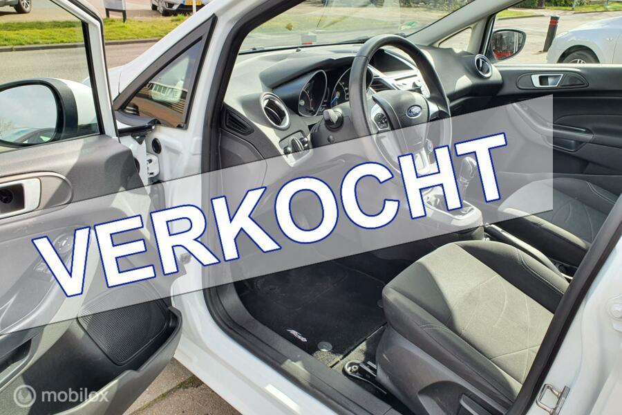 Ford Fiesta 1.0 Style, 5-Drs, Airco, 100% Onderhouden, NAP !