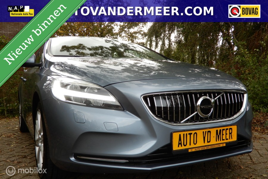 Volvo V40 2.0 T3 Inscription Navi / Leder