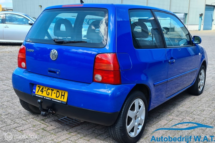 Volkswagen Lupo 1.4 # Stuurbekr. / trekhaak / APK / NAP / Distri vv / elektr. rmn / cv