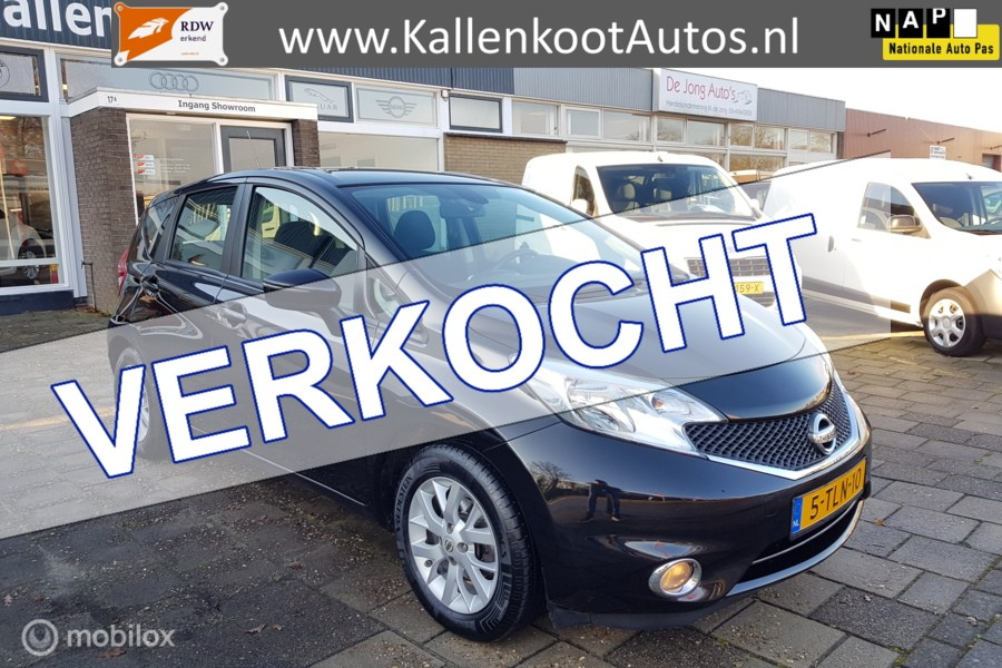 Nissan Note 1.2 Connect Edition, Navi, Clima, Keyles, Cruise