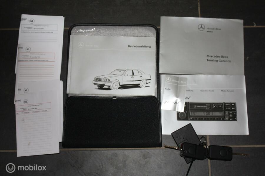 Mercedes C280 AUT W202 schuifdak/blauw leer/airco/cruise 280
