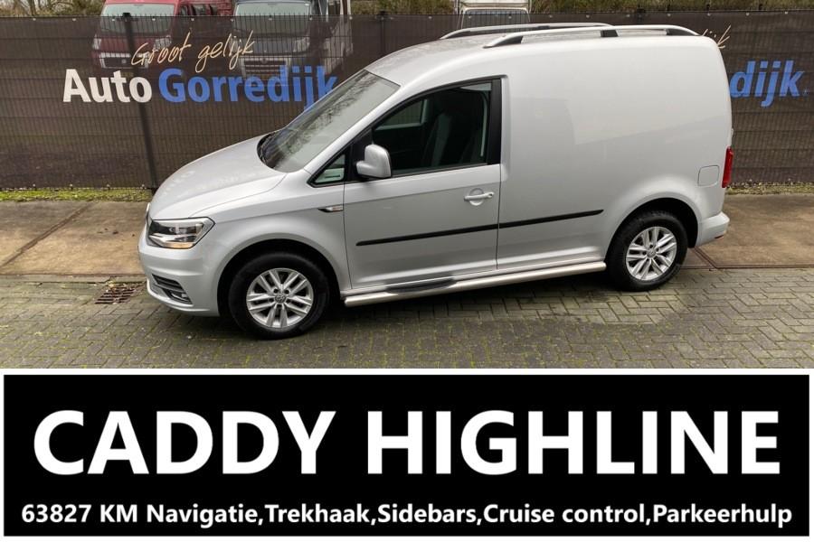 Volkswagen Caddy Bestel 2.0 TDi Highline Trekhaak,Navigatie,63827 KM